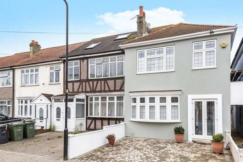 3 Bedrooms End Of Terrace House for sale in Stockport Road, Streatham