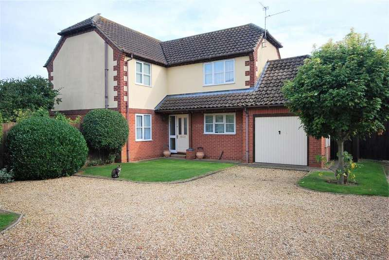 4 Bedrooms Detached House for sale in Wedgewood Drive, Spalding