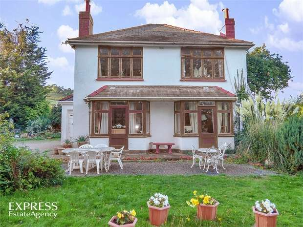 3 Bedrooms Detached House for sale in Old Roman Road, Langstone, Newport