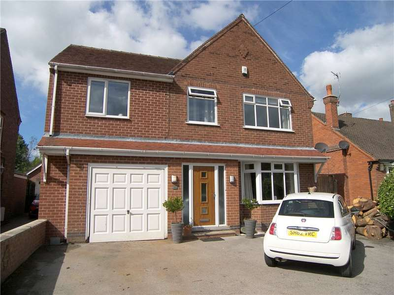 5 Bedrooms Detached House for sale in Hickton Road, Swanwick, Alfreton, Derbyshire, DE55