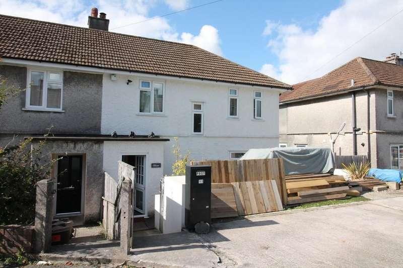3 Bedrooms Semi Detached House for sale in Wren Gardens, Plympton