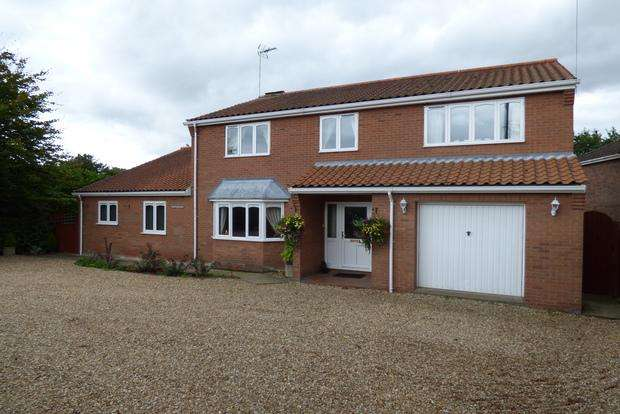 4 Bedrooms Detached House for sale in Mill Lane, Legbourne, Louth, LN11