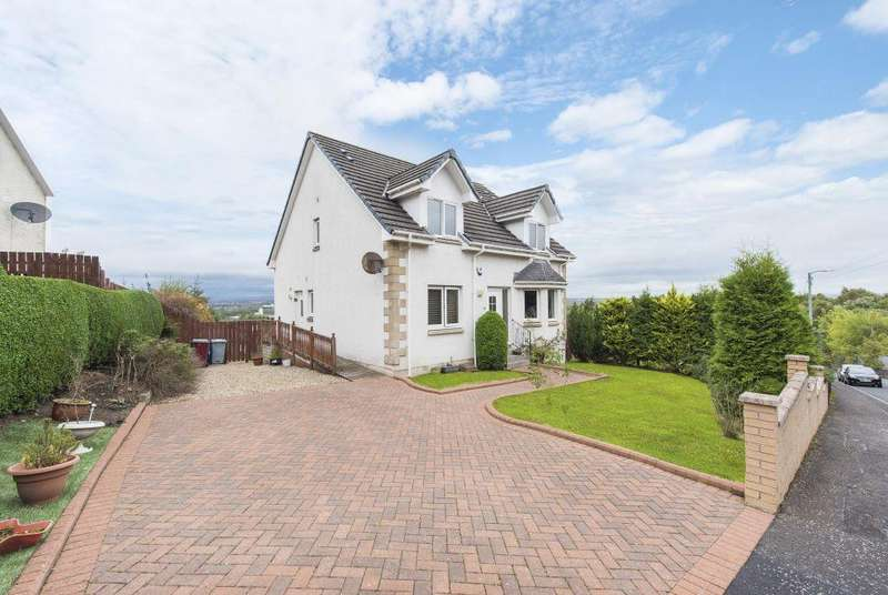 4 Bedrooms Detached Villa House for sale in 52 Howieshill Road, Cambuslang, Glasgow, G72 8PW