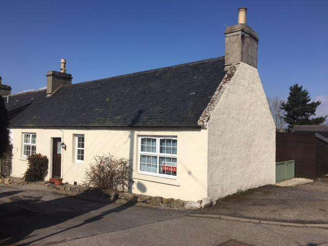 2 Bedrooms Semi Detached Bungalow for sale in School Street, Fearn IV20
