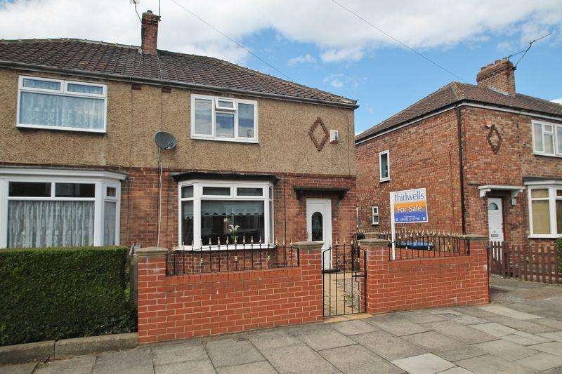 3 Bedrooms Semi Detached House for sale in Falcon Road, Middlesbrough