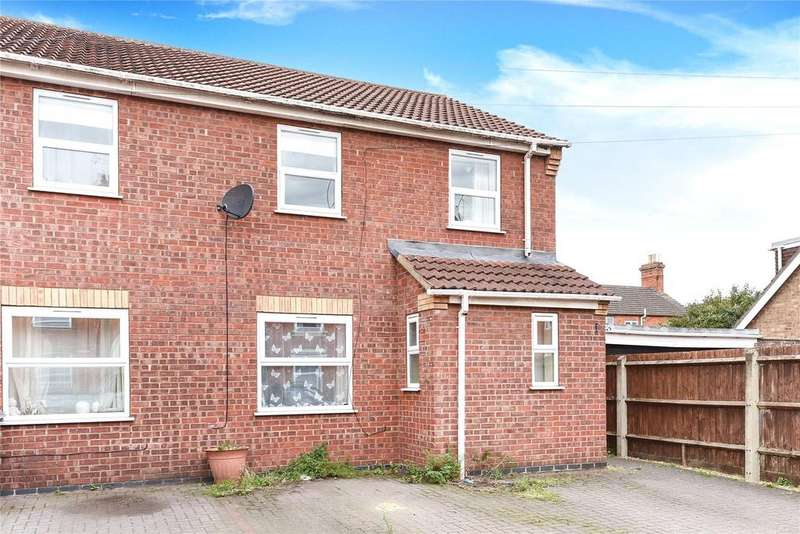 3 Bedrooms End Of Terrace House for sale in Castle Terrace Road, Sleaford, NG34