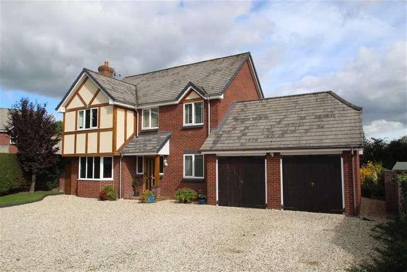 4 Bedrooms Detached House for sale in The Paddocks, PRESTEIGNE, Presteigne, Powys