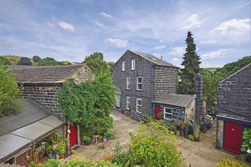 3 Bedrooms Detached House for sale in 788 Bottoms Farm ad Barns, Rochdale Road, Walsden, Todmorden OL14