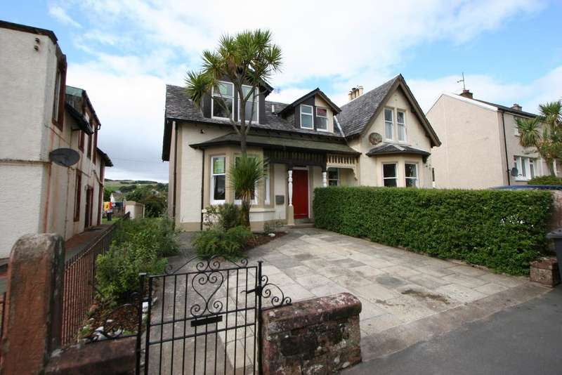 2 Bedrooms Semi Detached House for sale in 13 Ferry Road, Millport, ISLE OF CUMBRAE, KA28 0DZ