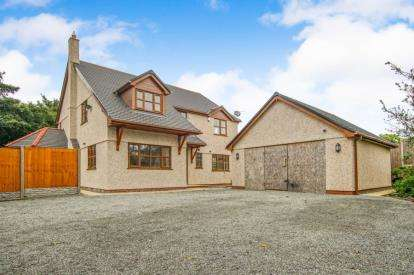 4 Bedrooms Detached House for sale in Gwalchmai, Holyhead, Sir Ynys Mon, LL65