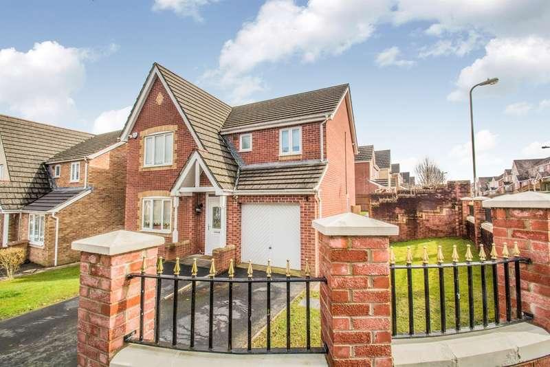 4 Bedrooms Detached House for sale in Burnet Drive, Pontllanfraith, Blackwood