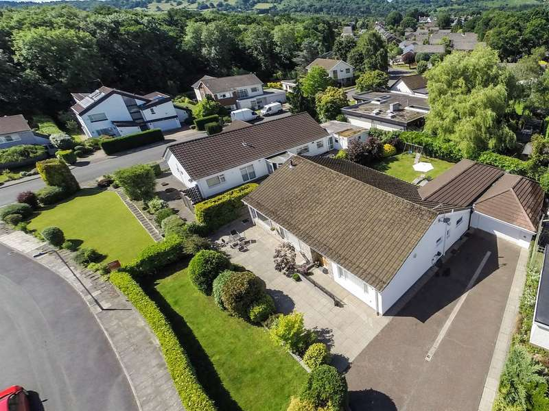 4 Bedrooms Detached Bungalow for sale in Millwood, Lisvane, Cardiff
