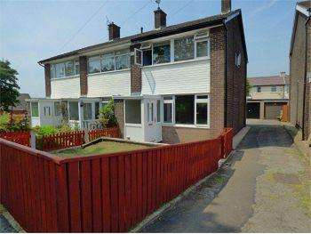 3 Bedrooms Terraced House for sale in Brookside Close, Hadfield, SK13 2AX