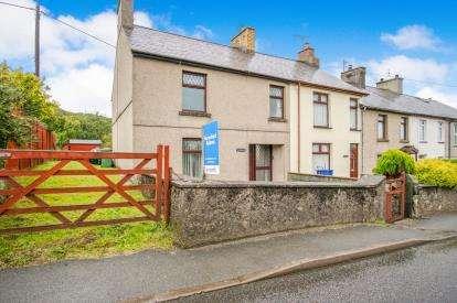 3 Bedrooms End Of Terrace House for sale in Bryncir, Garndolbenmaen, Gwynedd, ., LL51