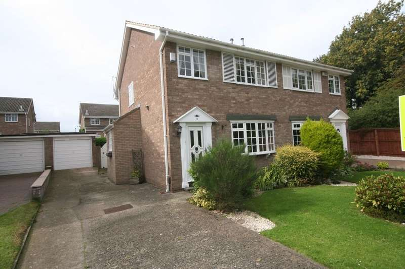 3 Bedrooms Semi Detached House for sale in Barlow Close, Guisborough, TS14