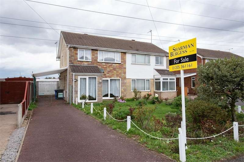 3 Bedrooms Semi Detached House for sale in Maple Road, Boston, Lincolnshire