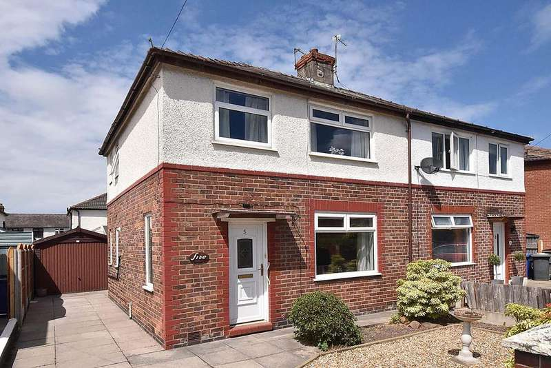3 Bedrooms Semi Detached House for sale in Cedar Grove, Latchford