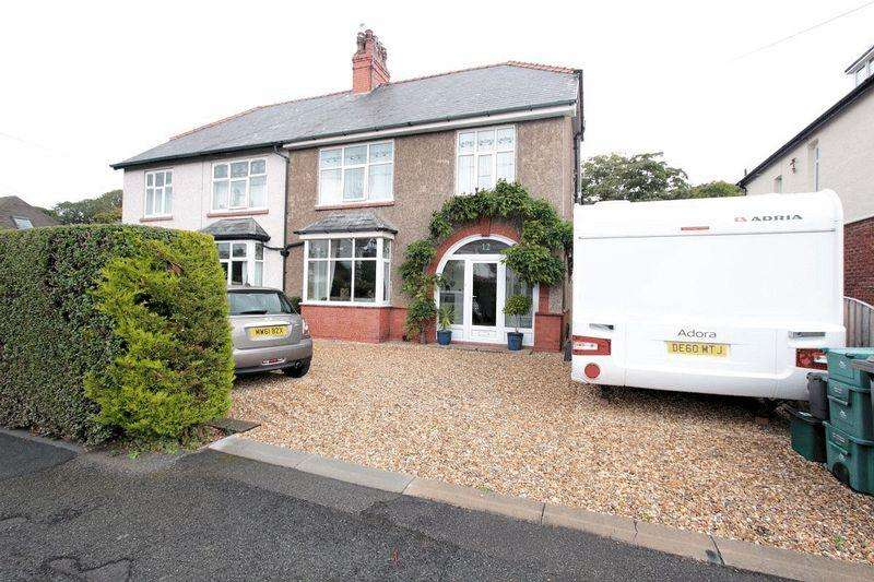 4 Bedrooms Semi Detached House for sale in Kinmel Avenue, Abergele