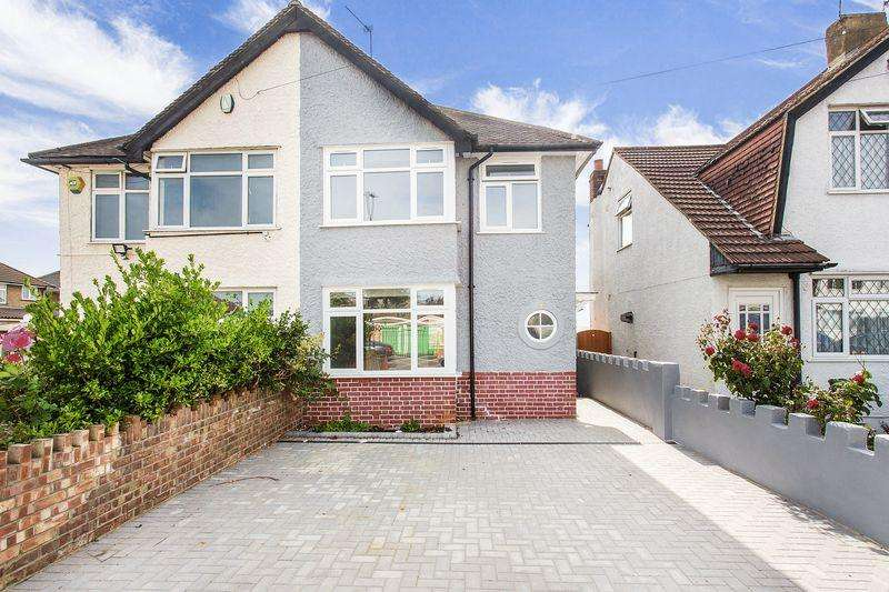 3 Bedrooms Semi Detached House for sale in Pield Heath Road, Hillingdon, UB8