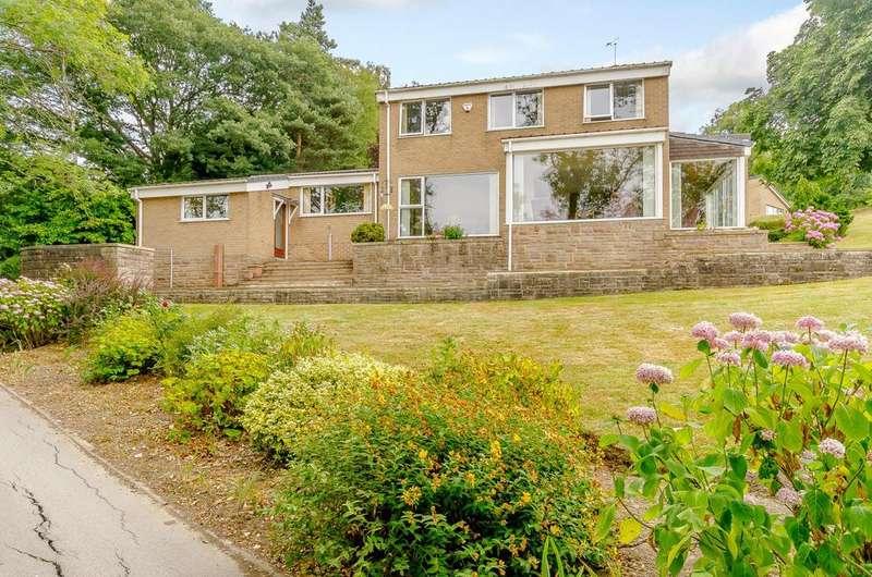 4 Bedrooms Detached House for sale in Hob Hill, Hazelwood, Belper, Derbyshire