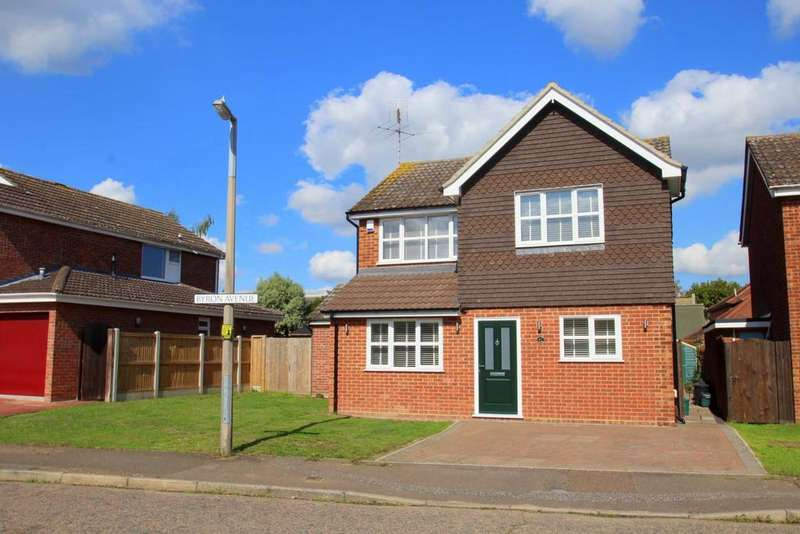 3 Bedrooms Detached House for sale in Byron Avenue, Poets Corner, Colchester