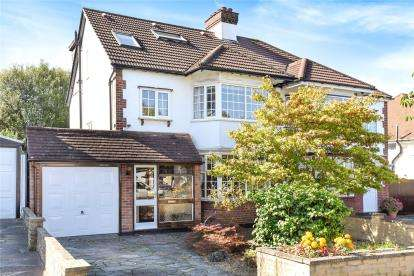 5 Bedrooms Semi Detached House for sale in Highfield Drive, West Wickham