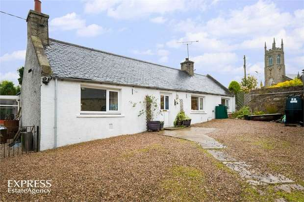 4 Bedrooms Detached Bungalow for sale in Gladstone Terrace, New Deer, Turriff, Aberdeenshire