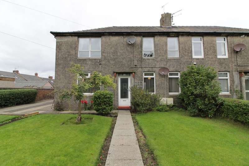 2 Bedrooms Ground Flat for sale in Woodfield Crescent, Ayr, KA8