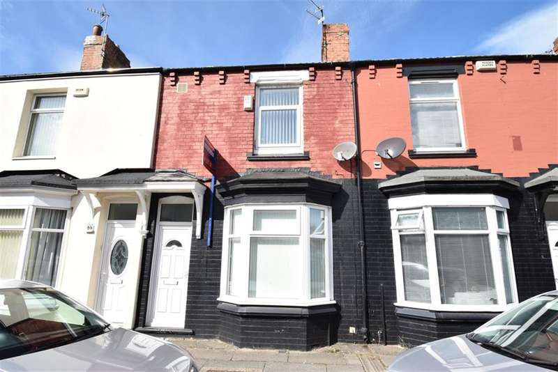 3 Bedrooms Terraced House for sale in Warwick Street, Middlesbrough, TS1 4PA
