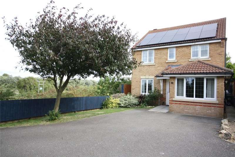 3 Bedrooms Detached House for sale in Sheldrake Road, Sleaford, Lincolnshire, NG34