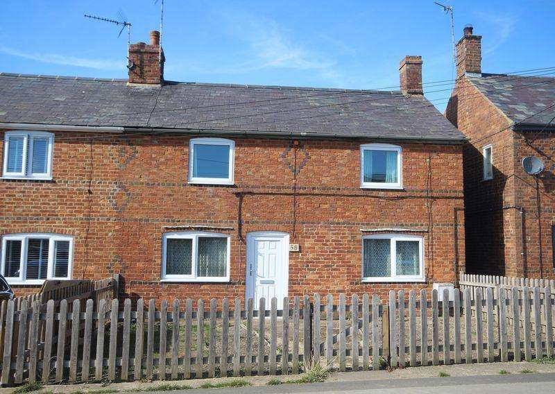 3 Bedrooms Semi Detached House for sale in Vicarage Lane, Steeple Claydon