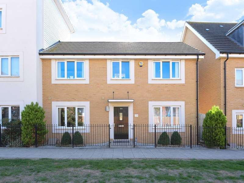 3 Bedrooms Semi Detached House for sale in Longships Way, Reading, RG2