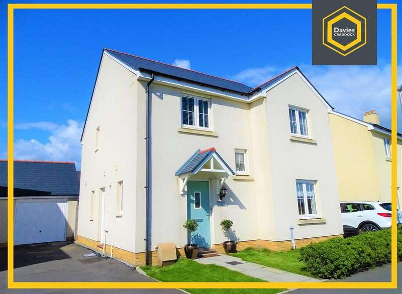 4 Bedrooms Detached House for sale in Rhes Brickyard Row, Llanelli, SA15