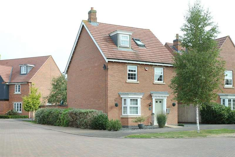 4 Bedrooms Detached House for sale in Finch Road, Kibworth Harcourt, Leicestershire