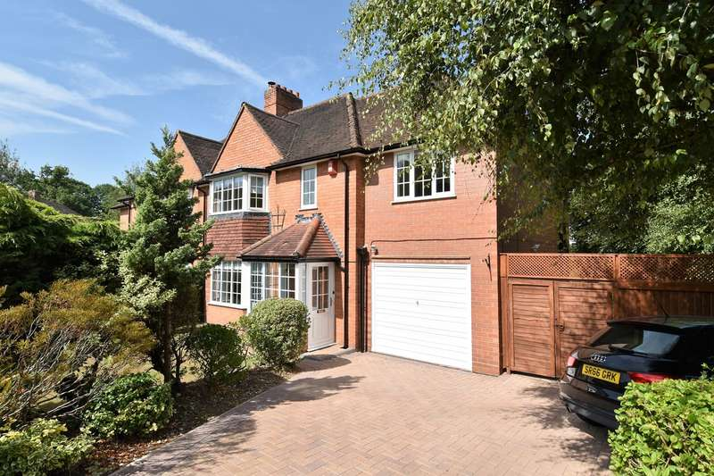 4 Bedrooms Semi Detached House for sale in Woodlands Park Road, Bournville, Birmingham, B30