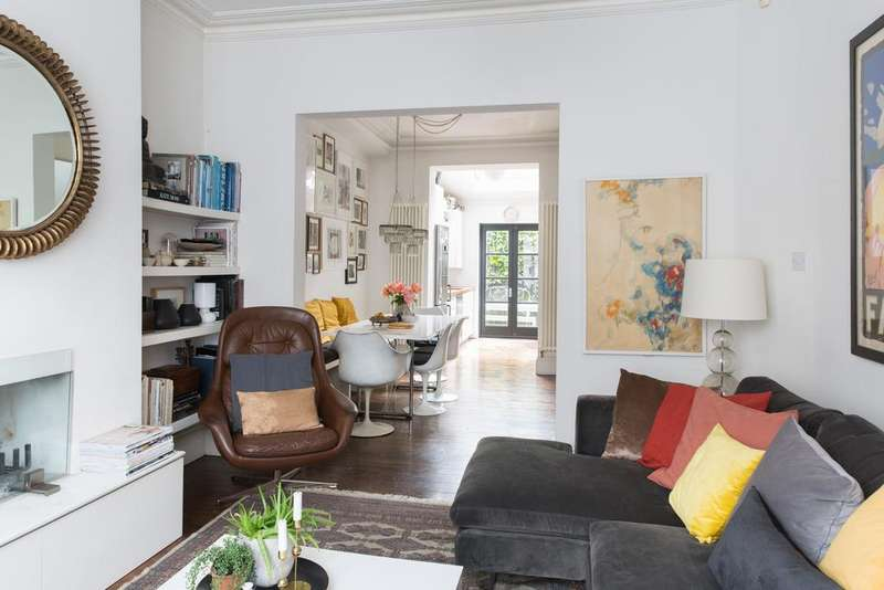 4 Bedrooms Terraced House for sale in Chetwnd Road, Dartmouth Park, London NW5