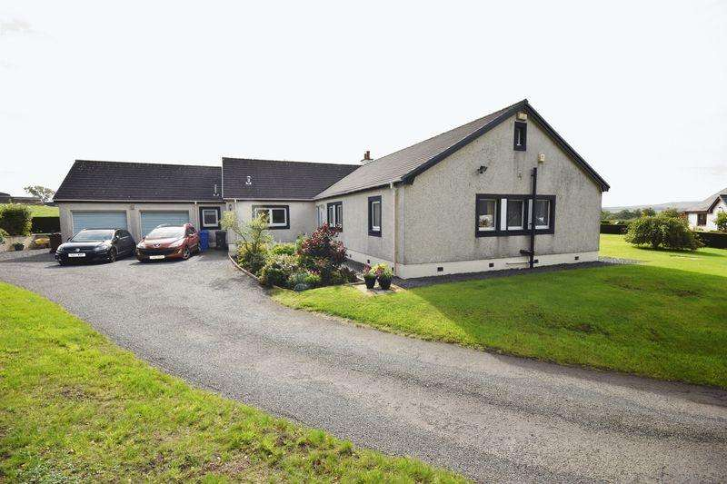 4 Bedrooms Detached Bungalow for sale in Plantainside Cottage, Glenmuir Water Road Cumnock KA18 3HY