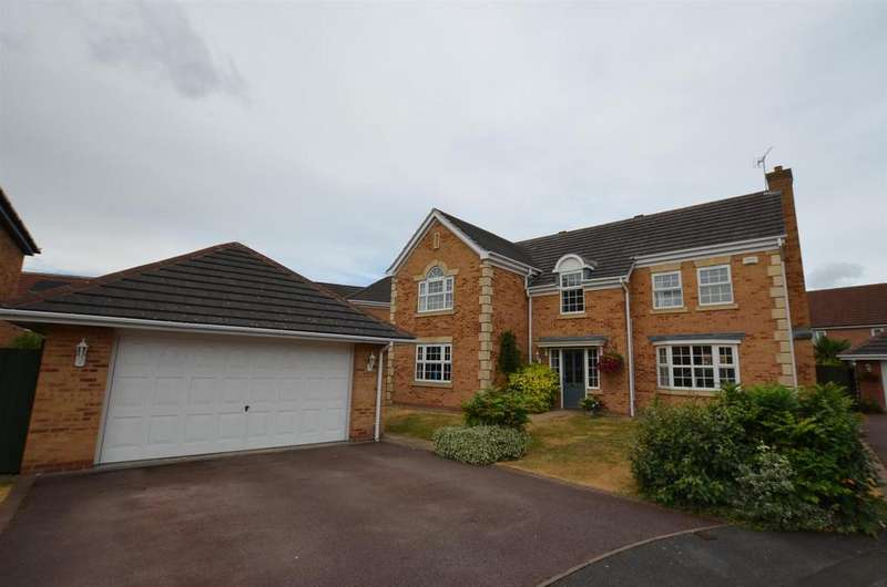 5 Bedrooms Detached House for sale in Hargreaves Close, Heatherton, Derby