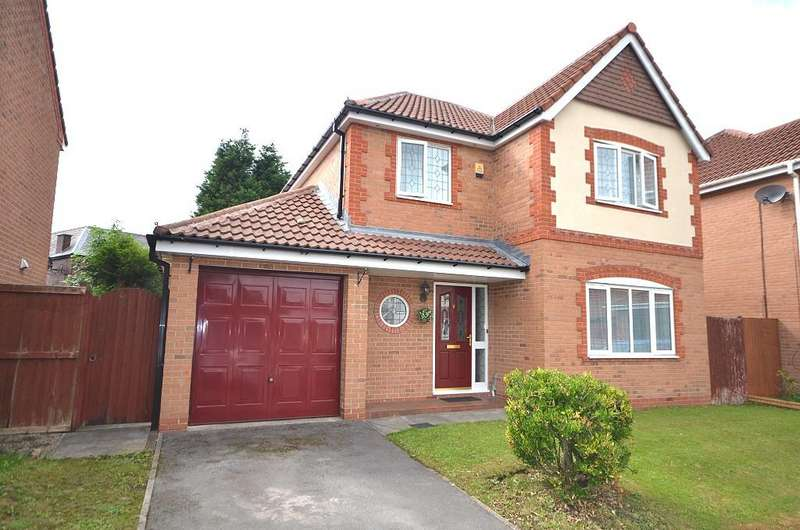 4 Bedrooms Detached House for sale in Hartford Green, Westhoughton BL5