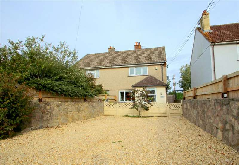 2 Bedrooms Semi Detached House for sale in Crabtree Close, Dundry, North Somerset, BS41