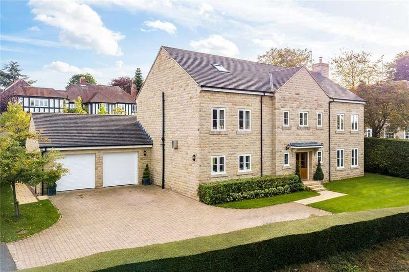 6 Bedrooms Detached House for sale in Wharfe View House, Langwith Wood Court, Collingham, Wetherby, West Yorkshire