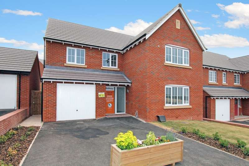 4 Bedrooms Detached House for sale in Ashtree Gardens, Ashby-de-la-Zouch LE65