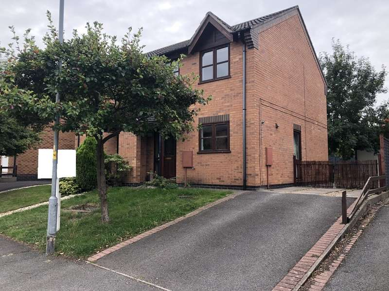 3 Bedrooms Semi Detached House for sale in Grantham, Ascot Drive NG31