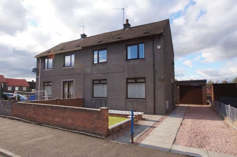 3 Bedrooms Semi Detached House for sale in Hazel Dene, Methil, Leven, KY8