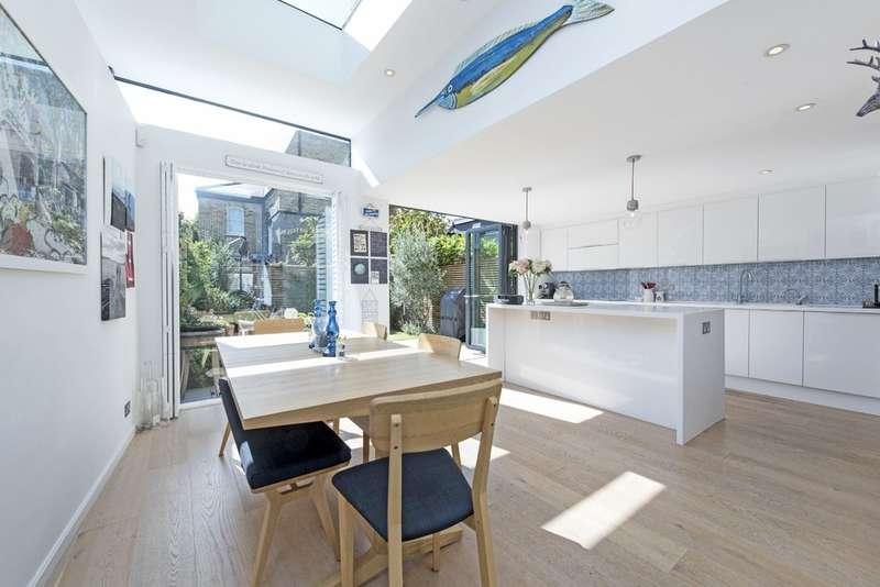 4 Bedrooms End Of Terrace House for sale in Salcott Road, Battersea, London