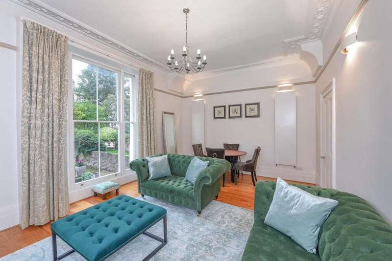 2 Bedrooms Flat for sale in Belsize Road, South Hampstead
