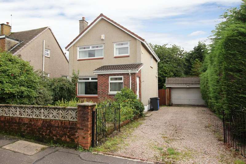 3 Bedrooms Detached House for sale in 25 Romanhill Road, Hardgate, G81 6NU