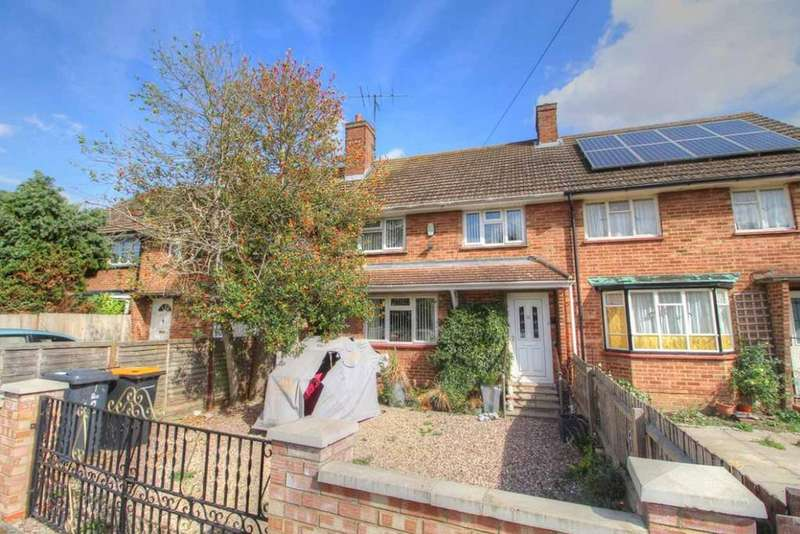3 Bedrooms Terraced House for sale in Tithe Barn Road, Wootton, Bedfordshire, MK43