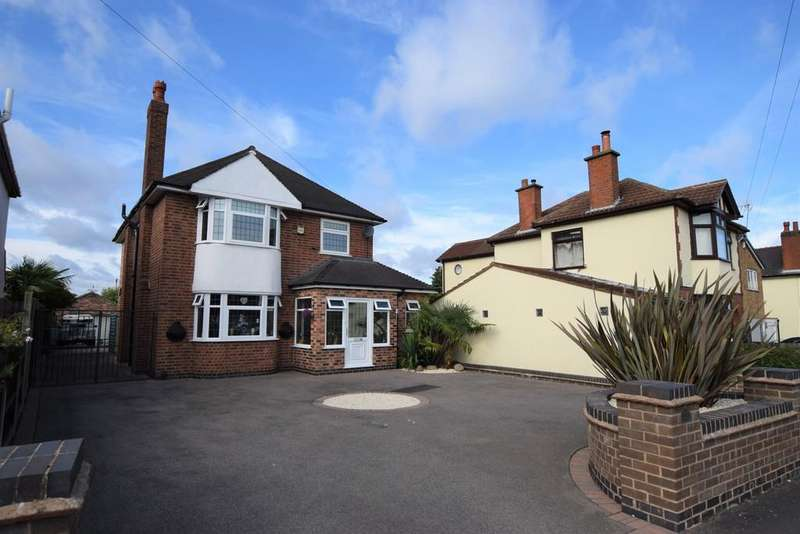 4 Bedrooms Detached House for sale in Middlefield Lane, Hinckley