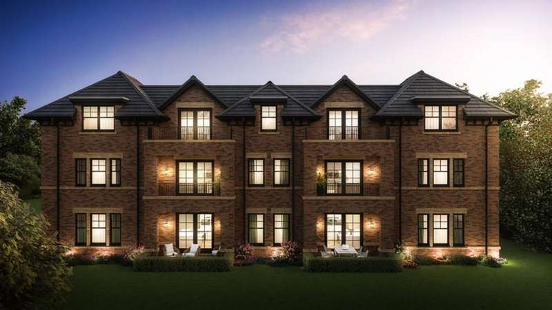 3 Bedrooms Penthouse Flat for sale in Fernleigh House, Alderley Road, Wilmslow